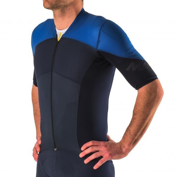 e4c1b3331 MAVIC COSMIC ULTIMATE SL Short-Sleeved Jersey Black Blue 2018 - Probikeshop