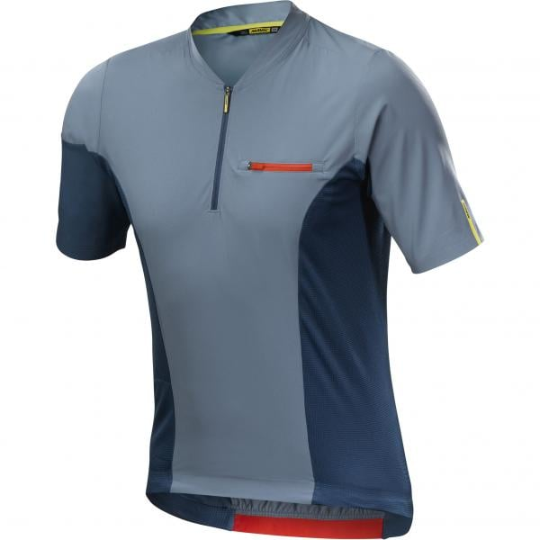 MAVIC XA PRO Short-Sleeved Jersey Blue 2018 - Probikeshop 00b21b58d