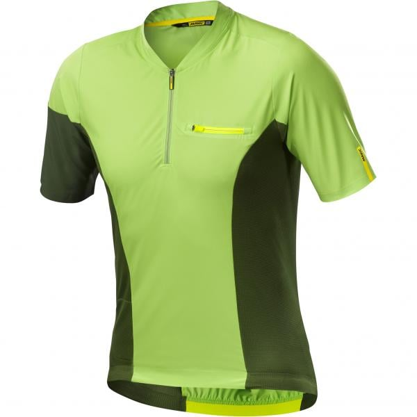 MAVIC XA PRO Short-Sleeved Jersey Green 2018 - Probikeshop 64c5c3656