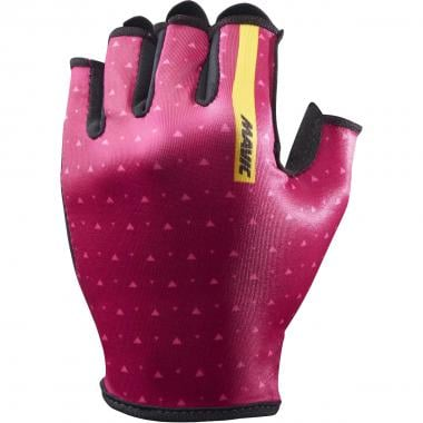 Gants Courts MAVIC SEQUENCE Femme Rouge