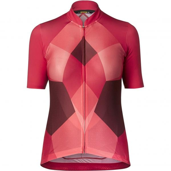 480357510 MAVIC SEQUENCE PRO Women s Short Sleeved Jersey Pink 2019 - Probikeshop