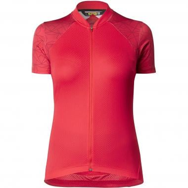 Maillot MAVIC SEQUENCE GRAPHIC Femme Manches Courtes Rose 2019