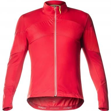 Maillot MAVIC COSMIC PRO WIND Manches Longues Rouge