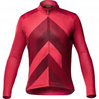 Maillot MAVIC COSMIC GRAPHIC Manches Longues Rouge 2019