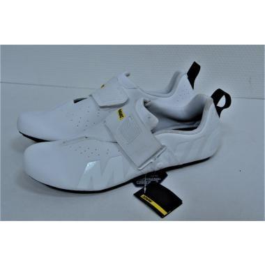 CDA - Chaussures Triathlon MAVIC COSMIC ELITE TRI Blanc - Taille 46 2/3