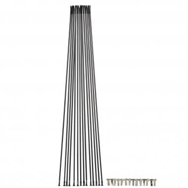 Kit de 14 radios MAVIC CROSSLINE Delantero / Trasero Negro 99690301