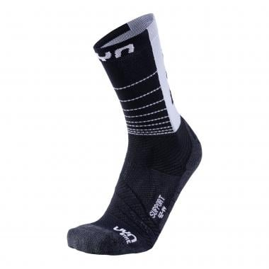 Chaussettes UYN CYCLING SUPPORT Noir/Blanc 2019
