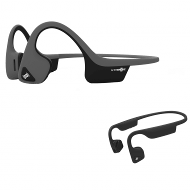 Sonderangebot - MP3-Kopfhörer AFTERSHOKZ TREKZ AIR + Bluetooth-Kopfhörer AFTERSHOKZ TREKZ TITANIUM