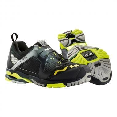 Sapatos de BTT NORTHWAVE EXPLORER GTX Preto/Amarelo