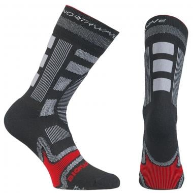 Calcetines NORTHWAVE EVOLUTION WINTER Negro/Rojo