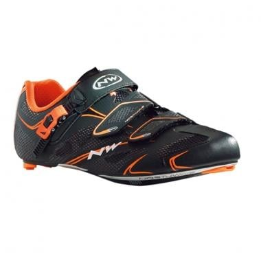 Chaussures Route NORTHWAVE SONIC TECH SRS Noir/Orange