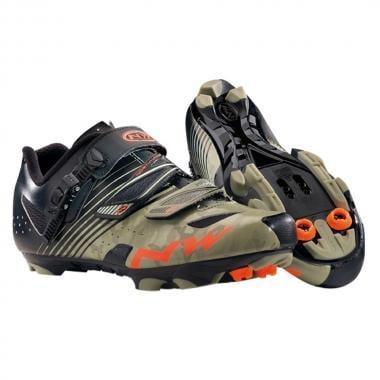 Sapatos de BTT NORTHWAVE HAMMER SRS Camuflado/Preto
