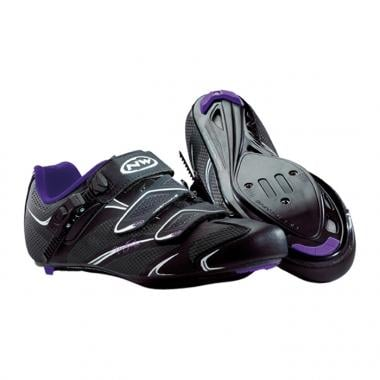 NORTHWAVE STARLIGHT SRS Shoes Women's Black/Purple