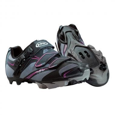 NORTHWAVE KATANA SRS Women's MTB Shoes Black/Anthracite/Fuchsia