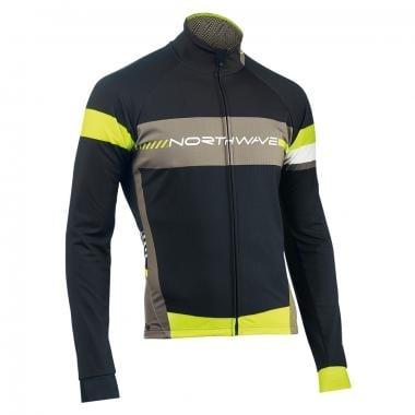 NORTHWAVE LOGO TP Jacket Black/ Neon Yellow