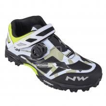 Zapatillas MTB NORTHWAVE ENDURO MID PRO MODEL CG Camuflaje/Negro/Blanco