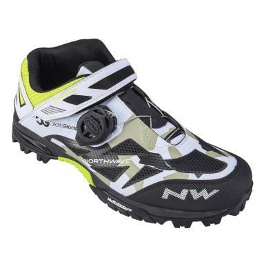 Chaussures VTT NORTHWAVE ENDURO MID PRO MODEL CG Camo/Noir/Blanc