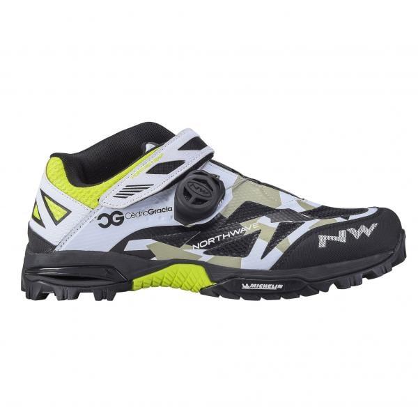MTB-Schuhe NORTHWAVE ENDURO MID PRO MODEL CG Tarnfarbe Schwarz Weiß -  Probikeshop 0e25317b43