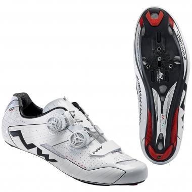 Sapatos de Estrada NORTHWAVE EXTREME Branco/Preto 2016