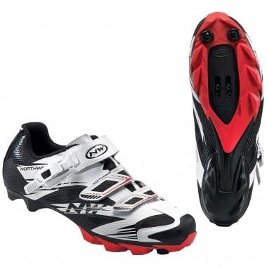 NORTHWAVE SCORPIUS 2 SRS MTB Shoes White/Black/Red 2016