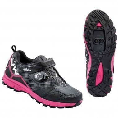 Zapatillas MTB NORTHWAVE MISSION PLUS Mujer Negro/Fucsia