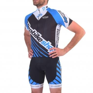 Maillot PROBIKESHOP by NORTHWAVE Mangas cortas Negro/Azul