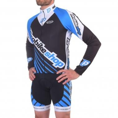 Maillot PROBIKESHOP by NORTHWAVE WINTER Mangas largas Negro/Azul