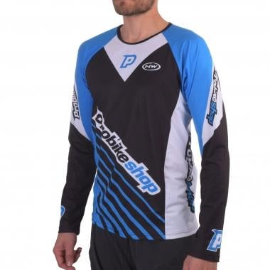 Jersey PROBIKESHOP by NORTHWAVE ALL MOUNTAIN Manga Comprida Preto/Azul