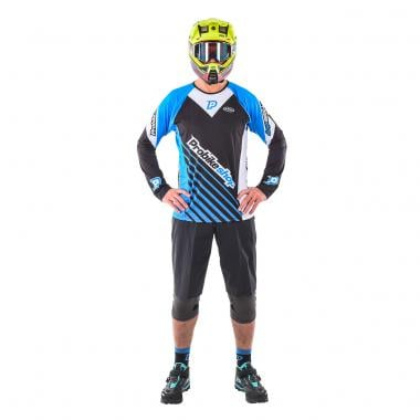 Maillot PROBIKESHOP by NORTHWAVE ALL MOUNTAIN Manches Longues Noir/Bleu