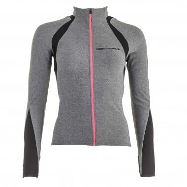 Maillot NORTHWAVE VENUS JERSEY Mujer Mangas largas Gris/Fucsia