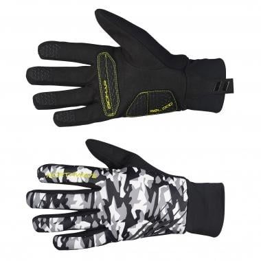 Guantes NORTHWAVE POWER 2 GEL Camuflaje/Amarillo fluorescente
