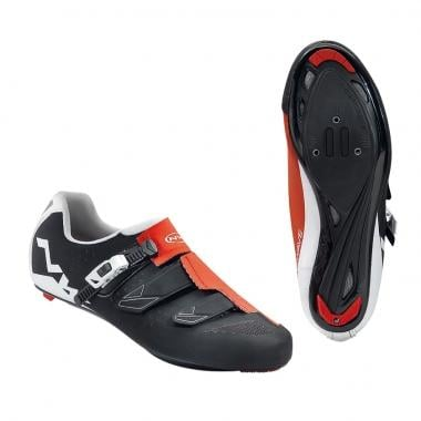 Chaussures Route NORTHWAVE PHANTOM SRS Noir/Rouge 2017