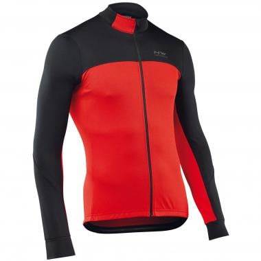 Maillot NORTHWAVE FORCE 2 Manches longues Noir/Rouge