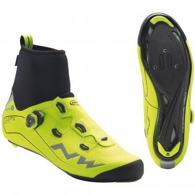 Chaussures Route NORTHWAVE FLASH ARCTIC GTX Jaune Fluo