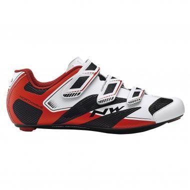 Sapatos de Estrada NORTHWAVE SONIC 2 Vermelho/Branco