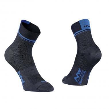 Chaussettes NORTHWAVE LOGO 2 Noir/Bleu