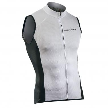 Maillot NORTHWAVE FORCE Sans Manches Blanc 2019