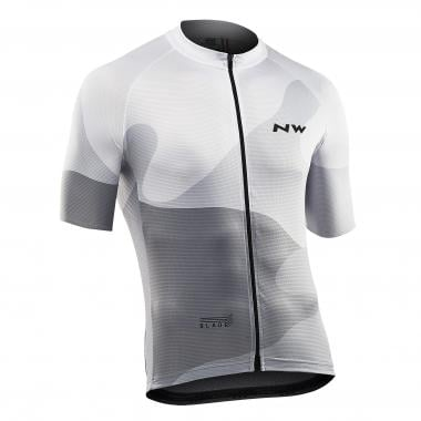 Maillot NORTHWAVE BLADE 4 Manches Courtes Blanc 2019