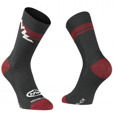 Chaussettes NORTHWAVE EXTREME WINTER Noir/Rouge 2019