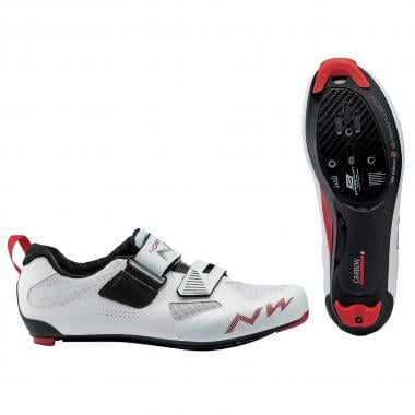 Sapatos de Triatlo NORTHWAVE TRIBUTE 2 CARBON Branco 2020
