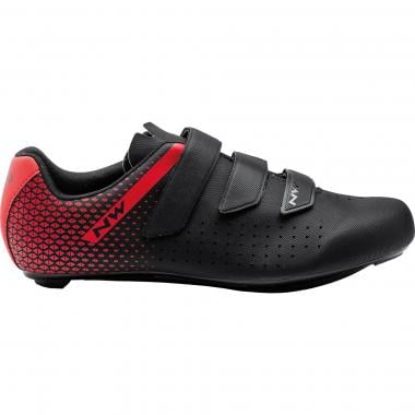 Chaussures Route NORTHWAVE CORE Noir/Rouge 2021