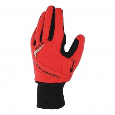 Guantes NORTHWAVE POWER Negro/Rojo