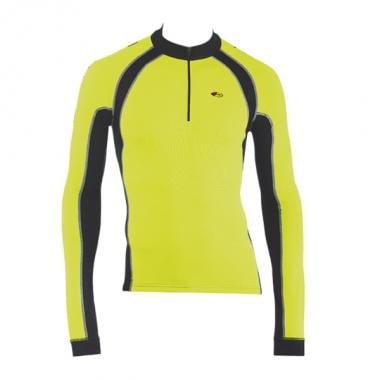 Maillot NORTHWAVE FORCE Mangas Largas Amarillo Fluorescente