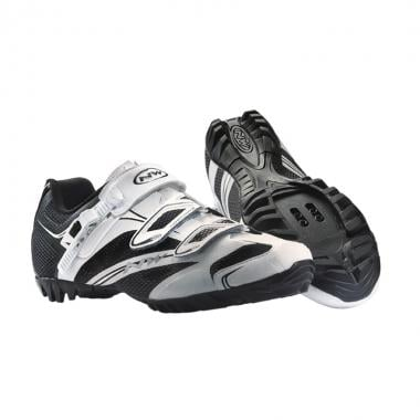 Sapatos de BTT NORTHWAVE FONDO SRS Branco/Preto