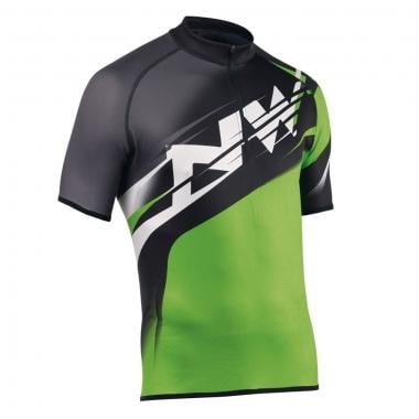 NORTHWAVE HAMMER Short-Sleeved Jersey Black/Green