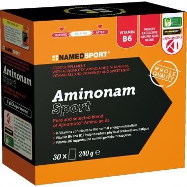 Boîte de 30 Sachets de Complément Alimentaire NAMEDSPORT AMINONAM SPORT (8 g)