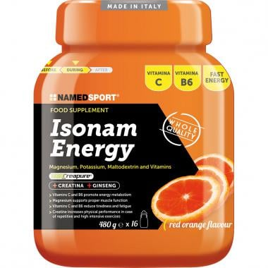Boisson Énergétique NAMEDSPORT ISONAM ENERGY (480 g)