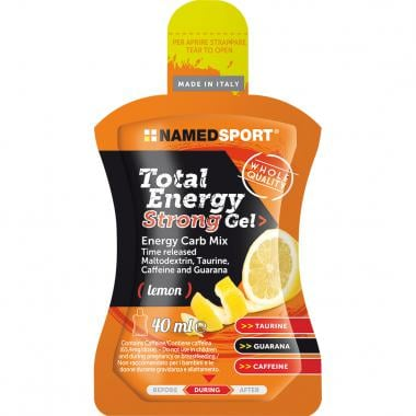 Gel Énergétique NAMEDSPORT TOTAL ENERGY STRONG GEL (40 ml)