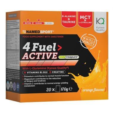 Pack de 20 Sachets de Compléments Alimentaires NAMEDSPORT 4FUEL ACTIVE