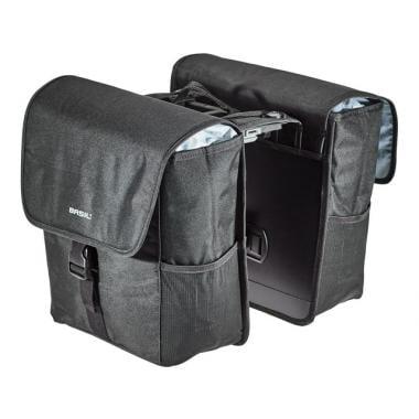 Paire de Sacoches de Porte-Bagages BASIL GO MIK 32L Noir